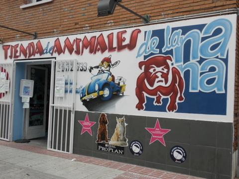 TIENDA DE ANIMALES DE LA NANA
