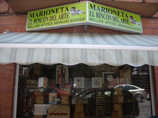 MARIONETA EL RINCON DEL ARTE