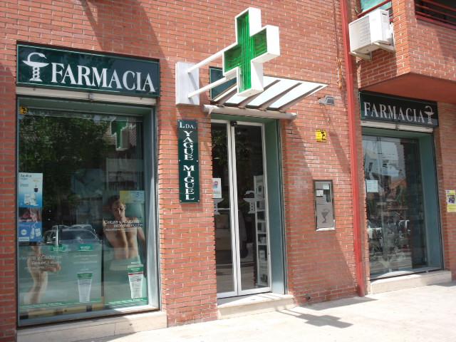 FARMACIA Mª CONCEPCION YAGÜE MIGUEL
