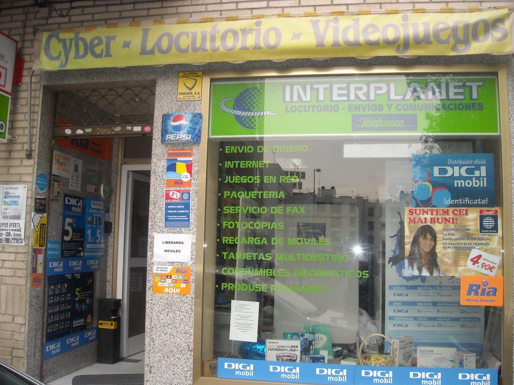 CYBERLOCUTORIO INTERPLANET
