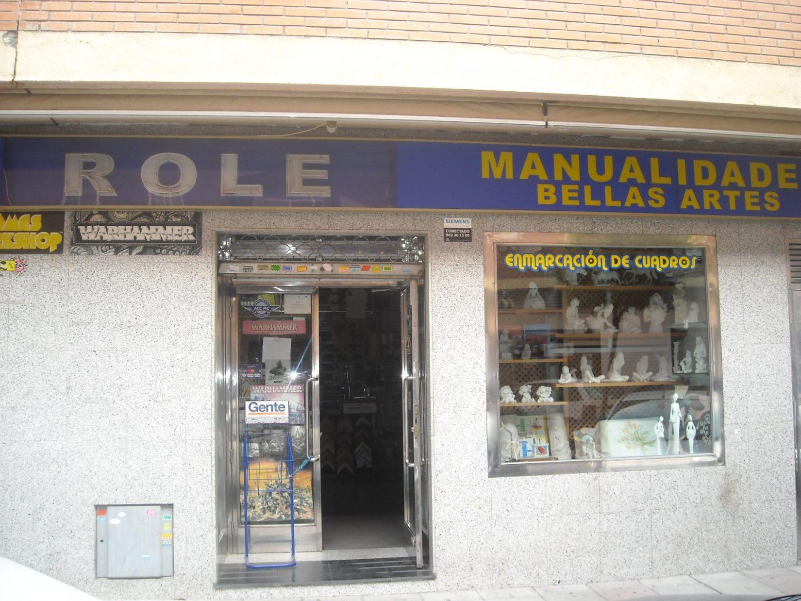 MANUALIDADES ROLE