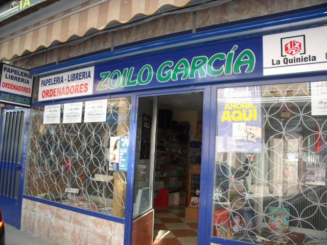 PAPELERIA LIBRERIA LOTERIA ZOILO GARCIA