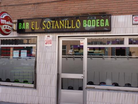 BAR BODEGA EL SOTANILLO