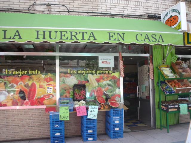 FRUTERIA LA HUERTA EN CASA