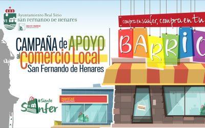# SienteSanfer: Compra en Sanfer, Compra en tu Barrio. Campaña de Apoyo Al Comercio Local.