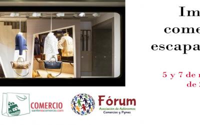 Clausura de 'Imagen comercial y escaparatismo', el nuevo taller formativo dirigido a establecimientos de proximidad