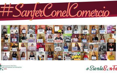 Finaliza la campaña SienteSanfer 2020: #ApoyaTuComercio
