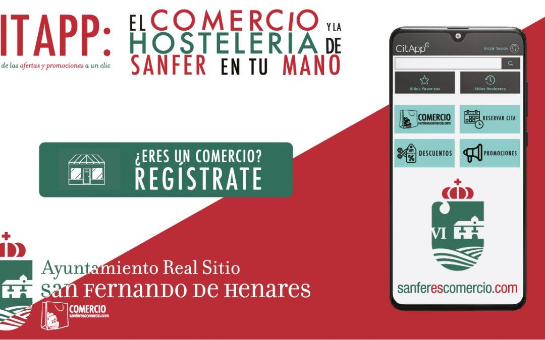 CitApp: EL COMERCIO Y LA HOSTELERÍA DE SANFER EN TU MANO, la App de las ofertas y promociones a un clic