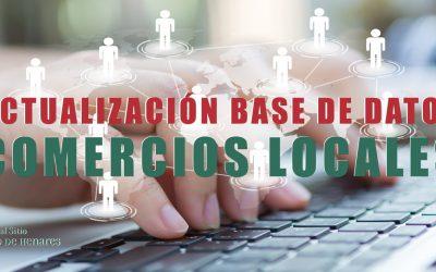 Actualización de la Base de datos de Comercios de San Fernando