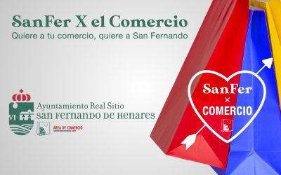 """""""SanferXelComercio""""campaña de apoyo al comercio local"""